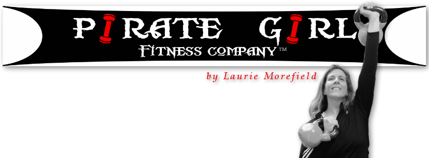 Pirate Girl Fitness by Laurie Morefield
